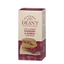 Dean's Raspberry & Oatmeal Shortbread 160g